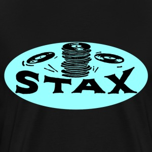 Black Stax Oval T-Shirt - Men's Premium T-Shirt