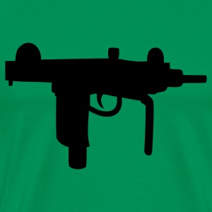 Bright green Uzi T-Shirts - Men's Premium T-Shirt