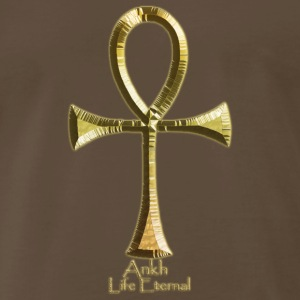 Golden Ankh - Men's Premium T-Shirt