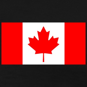 Black Canada_Flag_pix T-Shirts - Men's Premium T-Shirt