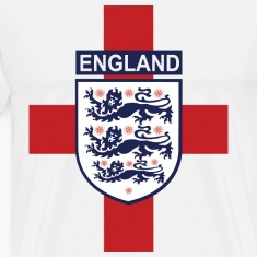 England crest with flag back