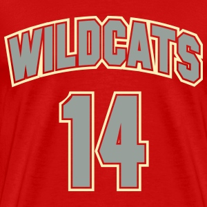 Wildcats 14 - Men's Premium T-Shirt