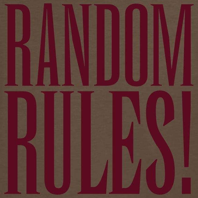 Panto Random Rules Brown Shirt