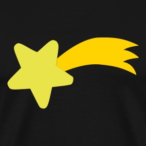 Black Shooting Star T-Shirts - Men's Premium T-Shirt