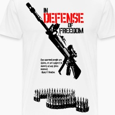 White defense_of_freedom T-Shirts