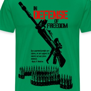 Sage defense_of_freedom T-Shirts - Men's Premium T-Shirt