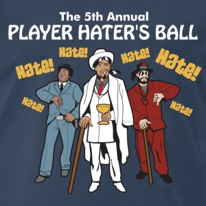 Player Haters Ball T-Shirts - Men's Premium T-Shirt