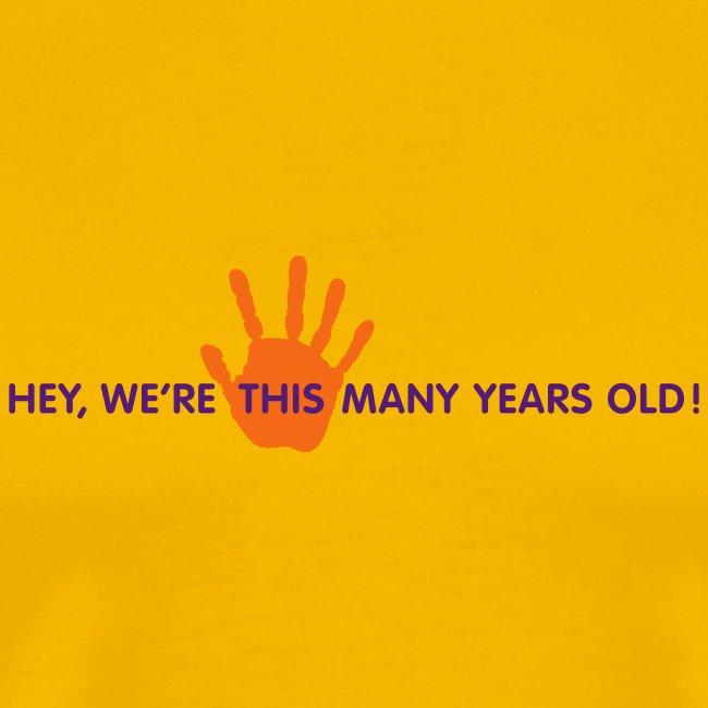 Panto Fifth Anniversary Shirt Yellow