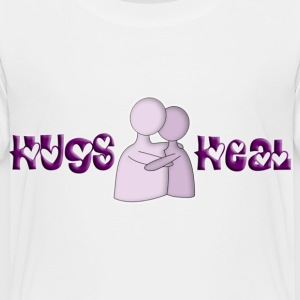 Hugs Heal Banner - Toddler Premium T-Shirt