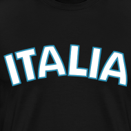 Design ~ 3XL ITALIA Logo T, Black