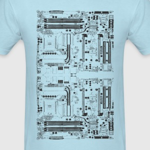 Computer motherboard Design - Men's T-Shirt
