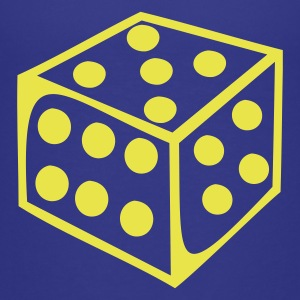 Royal blue Dice - Number Kids Shirts - Kids' Premium T-Shirt