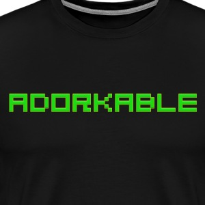 Adorkable - Men's Premium T-Shirt
