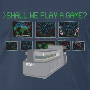 War Games W.O.P.R. Tee - Men's Premium T-Shirt