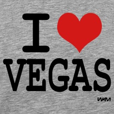 Ash  I love vegas by wam T-Shirts
