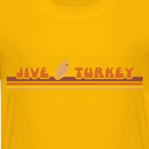 Yellow jiveturkey Kids Shirts - Kids' Premium T-Shirt