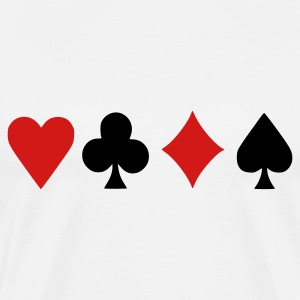 Natural Poker T-Shirts - Men's Premium T-Shirt
