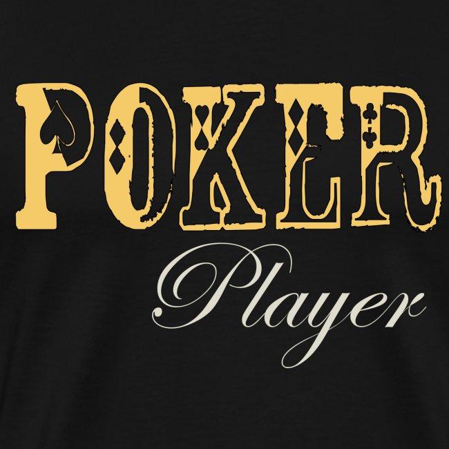 Poker Player  Mens 3XL T Black