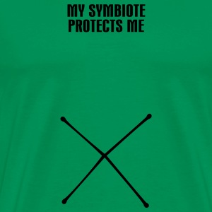 My symbiote protects me - Men's Premium T-Shirt
