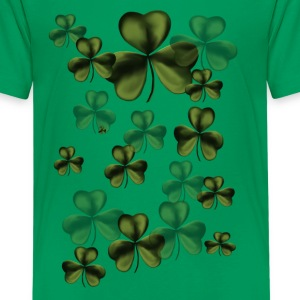Shamrocks By The Dozen - Kids' Premium T-Shirt