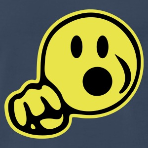 Smiley Blow - Men's Premium T-Shirt