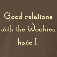 Design ~ Friends with Wookies - 3XL