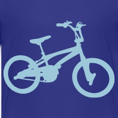 Royal blue BMX - Bike Kids Shirts
