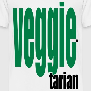 White Veggietarian Toddler Shirts - Toddler Premium T-Shirt