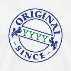 White original since + your year of birth T-Shirts
