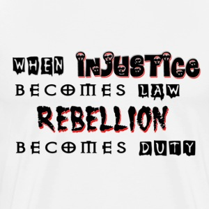 Rebellion - Men's Premium T-Shirt