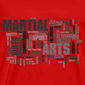 Mixed up martial arts T - Men's Premium T-Shirt