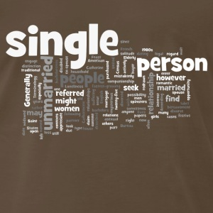 Single persons T - Men's Premium T-Shirt