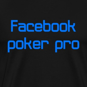 Facebook poker pro - Men's Premium T-Shirt