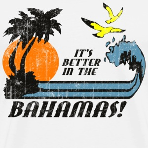 Into the Blue Bahamas - Men's Premium T-Shirt