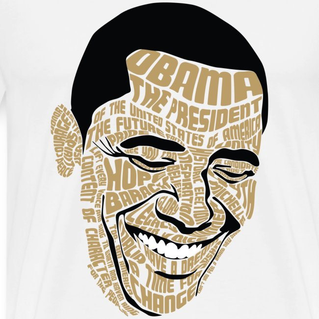 Wordsworth Obama Men - WHITE 3X