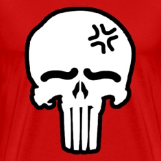 My Punisher Red T-Shirts