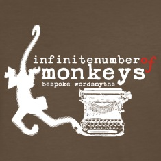 infinite number of monkeys T-Shirts