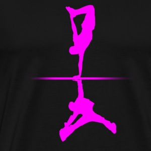 Black dance T-Shirts - Men's Premium T-Shirt