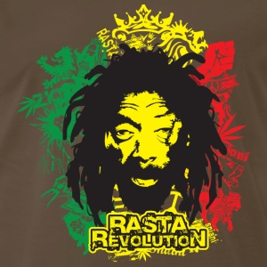 Chocolate rasta revolution T-Shirts - Men's Premium T-Shirt