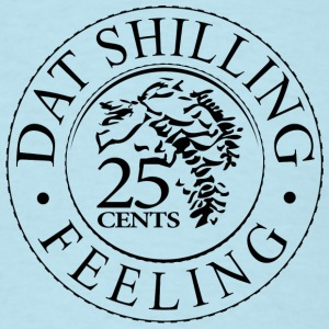 Sky blue Shilling Feeling T-Shirts - Men's T-Shirt