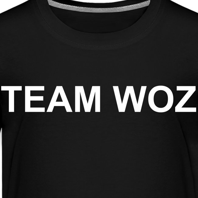 Toddler TEAM WOZ T-Shirt