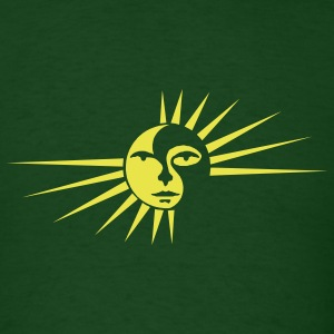 SUN Green - Men's T-Shirt