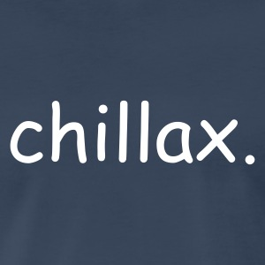 Chillax - Blue SS Men - Men's Premium T-Shirt