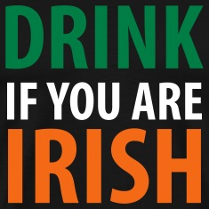 Black drink if you are irish T-Shirts