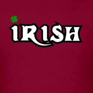 Irish st patrick's font design edition - Men's T-Shirt