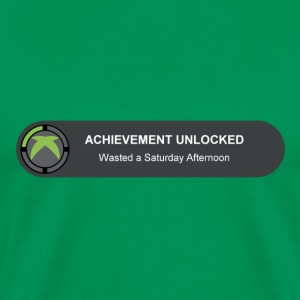 Bright green Achievement T-Shirts - Men's Premium T-Shirt