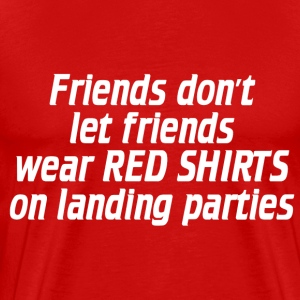 Red shirt - Men's Premium T-Shirt