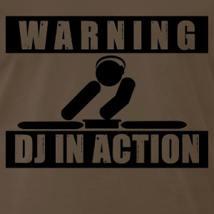 DJ in action - Men's Premium T-Shirt