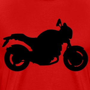 Red Ducati Monster T-Shirts - Men's Premium T-Shirt