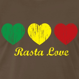 Chocolate Rasta Love T-Shirts - Men's Premium T-Shirt